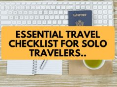 Essential Travel Checklist