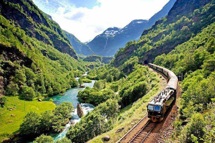 Flamsbana Norway