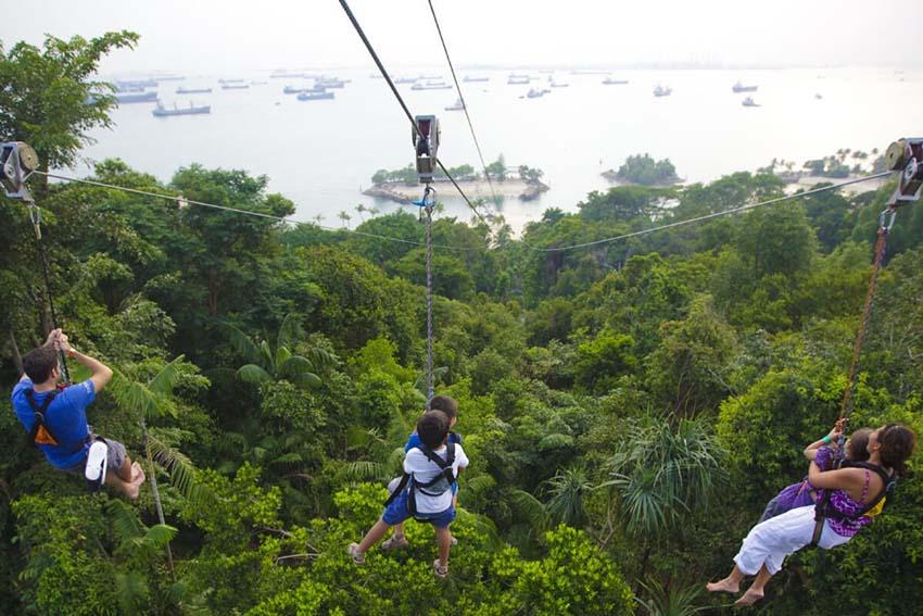 MegaZip Zipline singapore