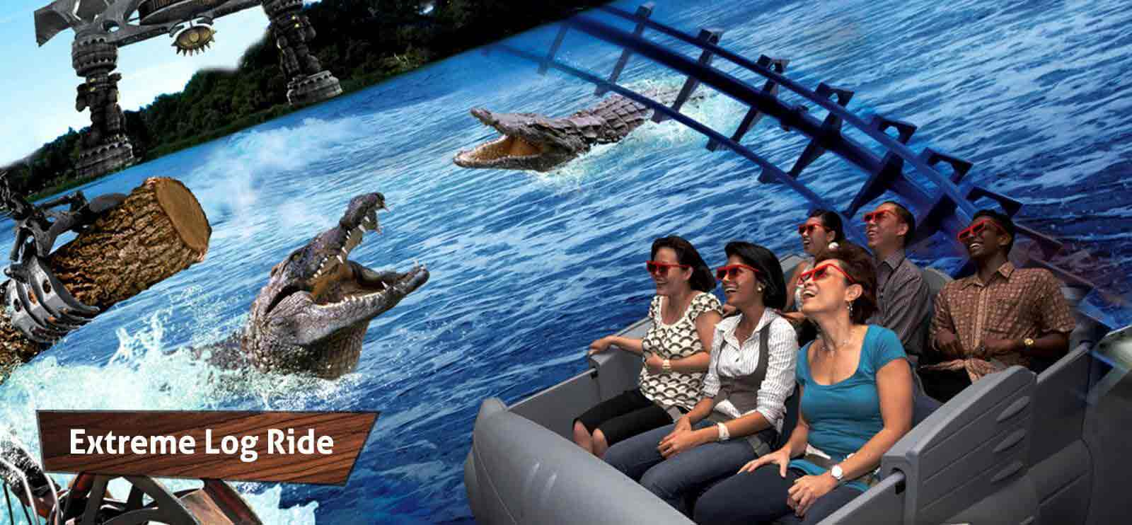 Sentosa's 4D Adventureland shows