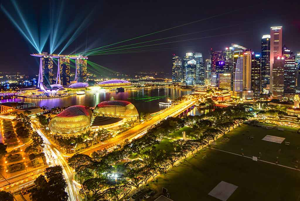Marina Bay Sands show