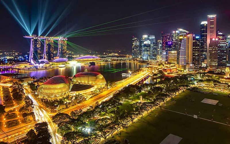 Marina Bay Sands show