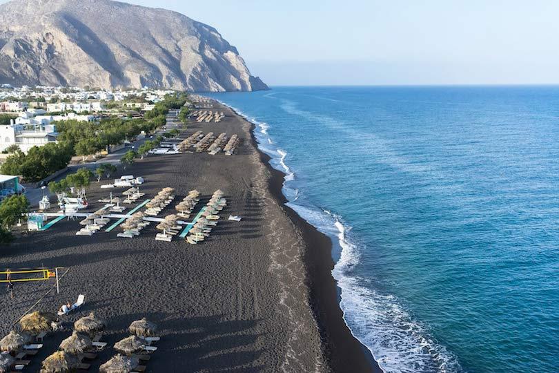 Perissa Beach Greece