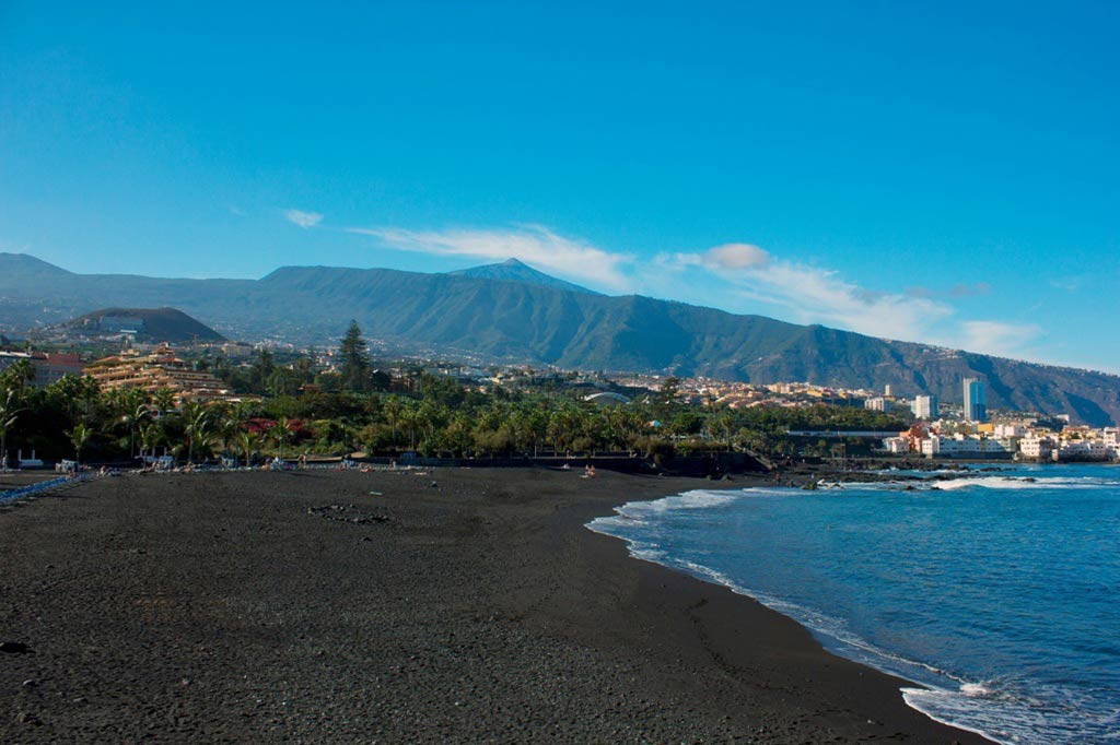 Playa Jardin Canary Islands