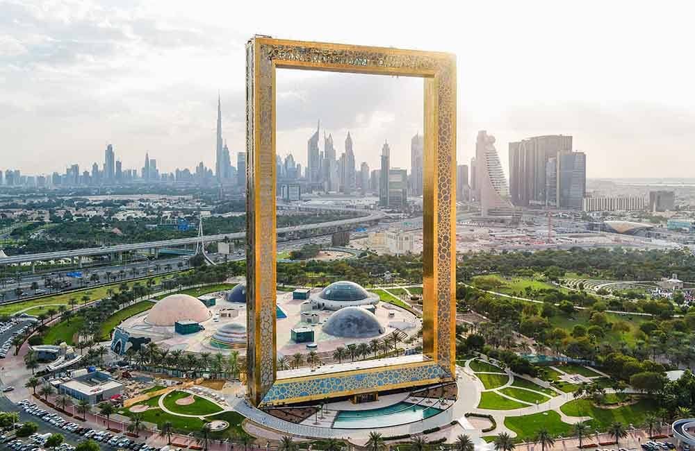 Glasses Frame Dubai : Dubai Frame Dubai s Magnificent New Giant Picture Frame!