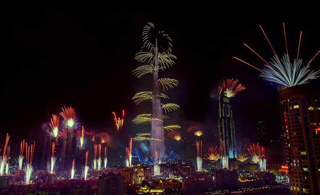 eid fireworks dubai