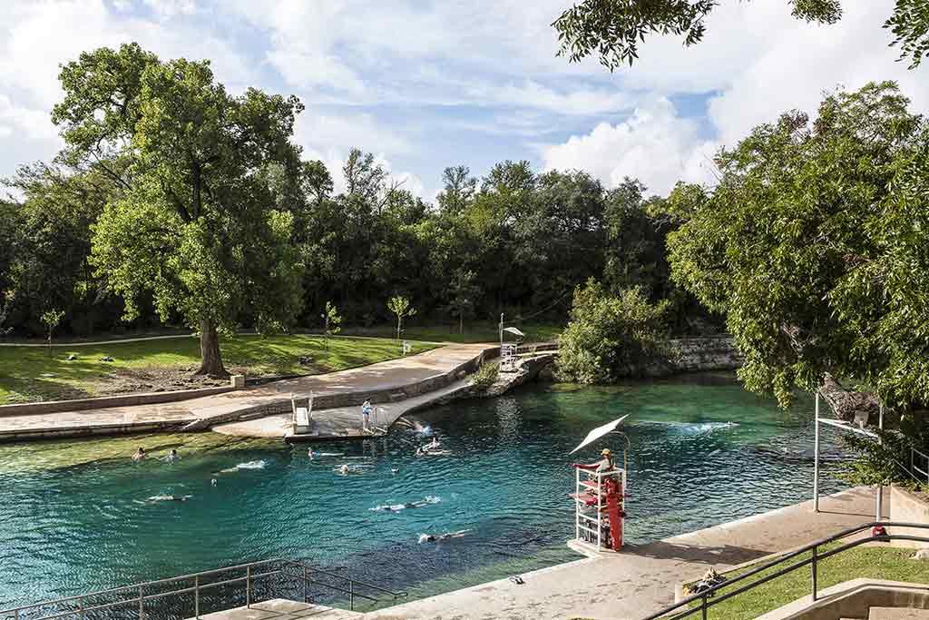 Barton Springs Pool Texas