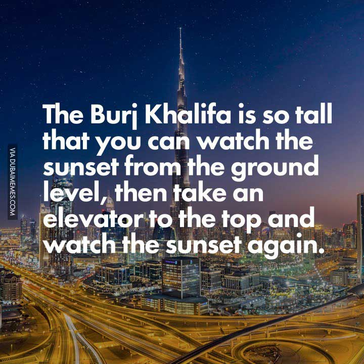 Burj Khalifa Sunset View