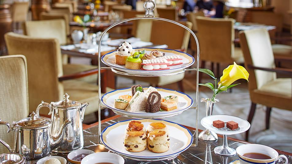 English High Tea at Peninsula hotel Hong Kong