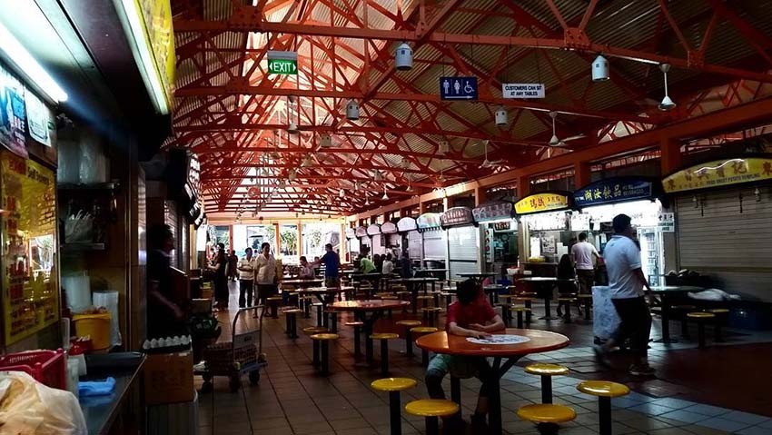 Hawker Spotlight at Maxwell Food Centre