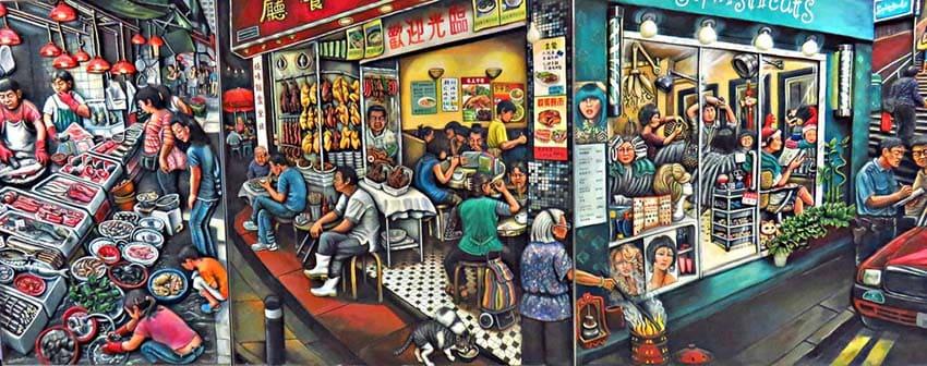 Vibrant Art Scene in Hong Kong