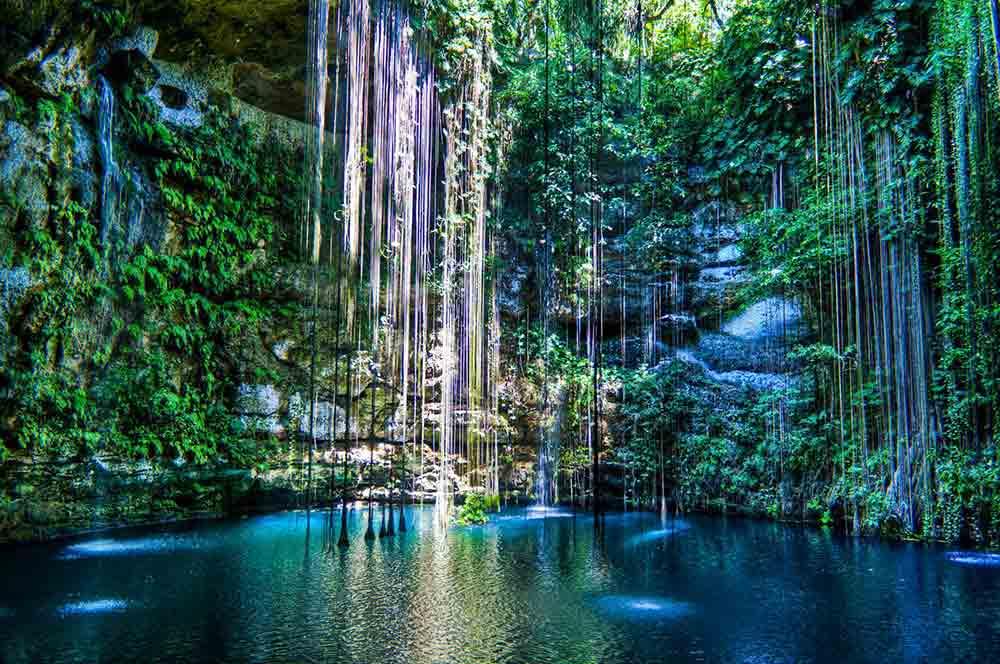 ik kil cenote mexico