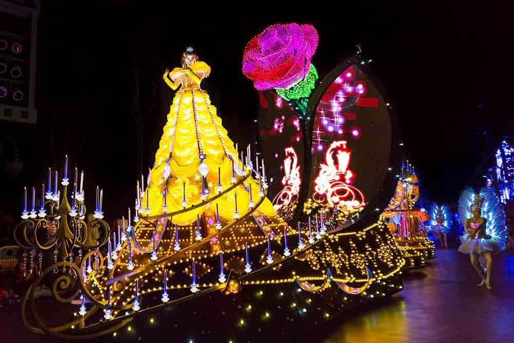 Disney Paint the Night parade Hong Kong Disneyland