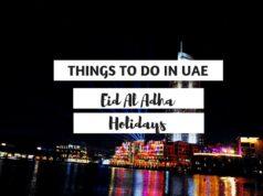 Eid Al Adha Holidays