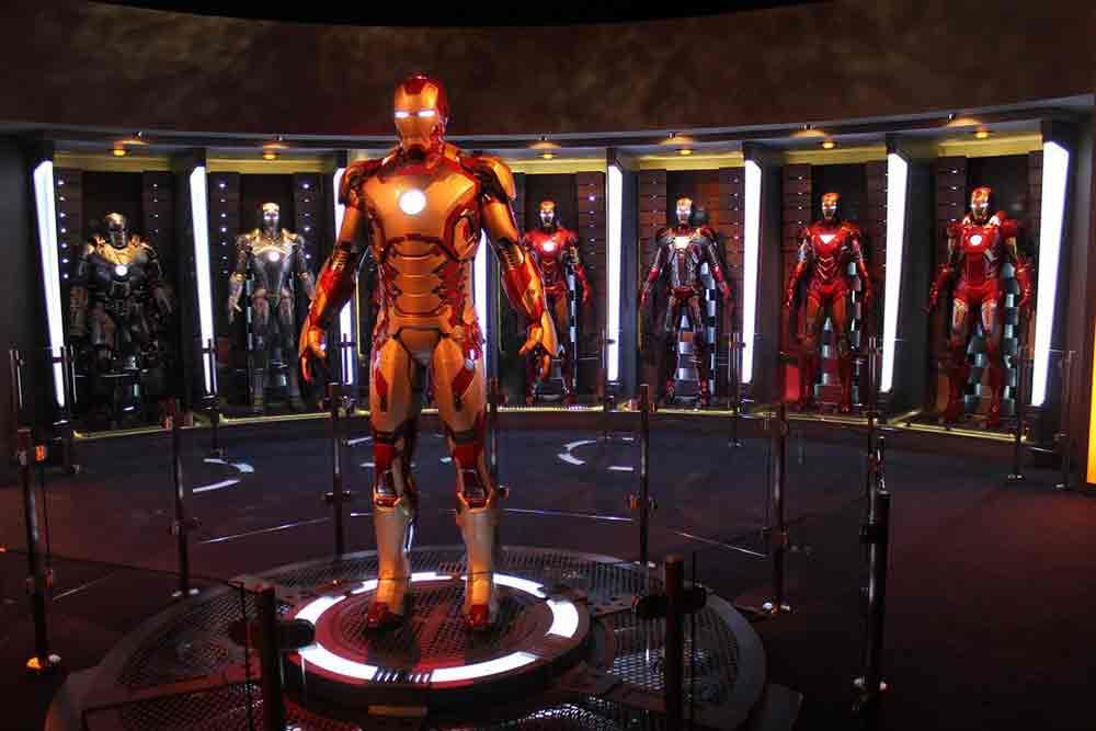 Iron Man Experience Hong Kong Disneyland