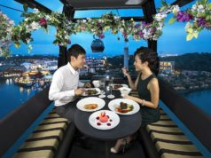 cable car sky dining singapore