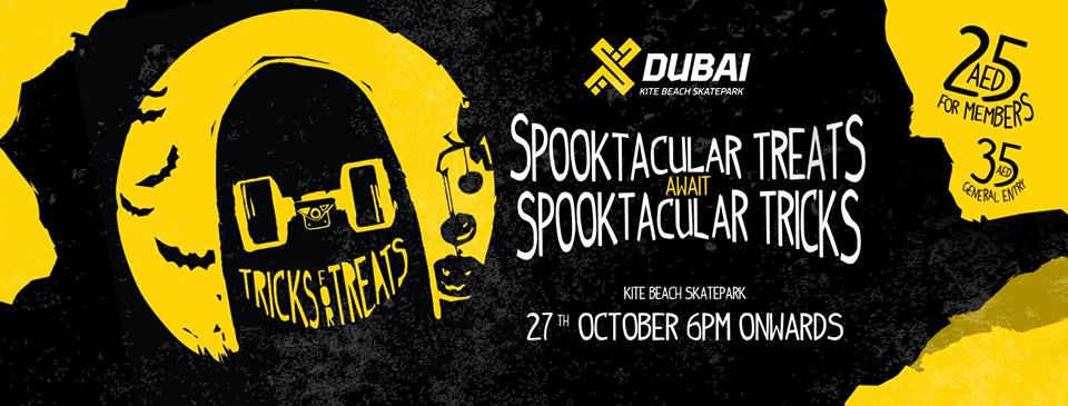 Dubai Skateparks Halloween Party