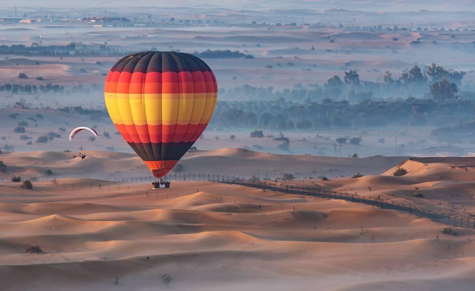Spooky Evening Balloon Ride Dubai