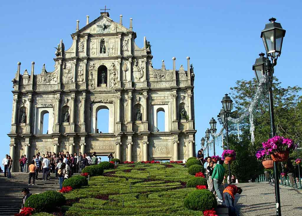 St. Paul Ruins Macau
