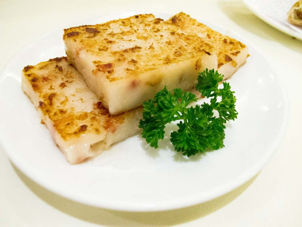 turnip cakes hong kong