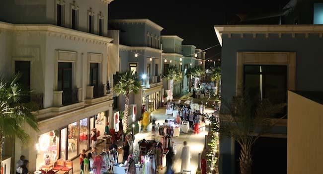 Al Seef streets, Dubai