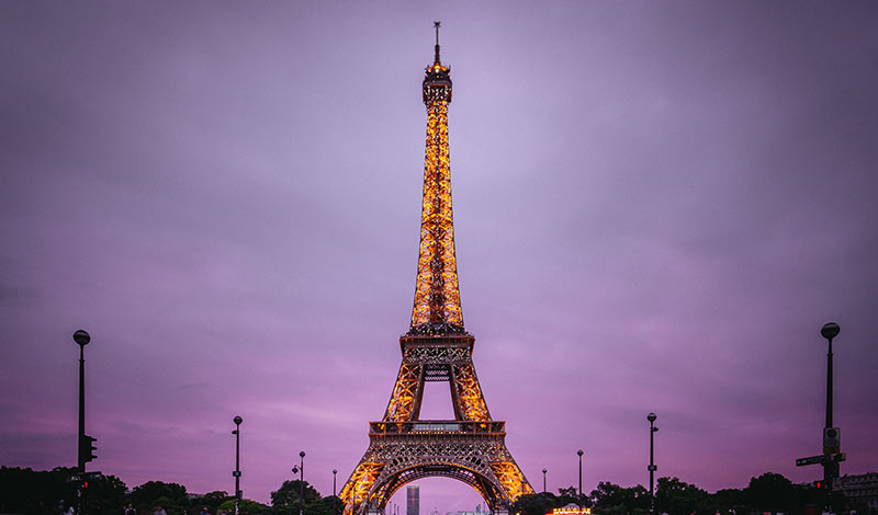 Visiting The Beautiful Eiffel Tower At Night